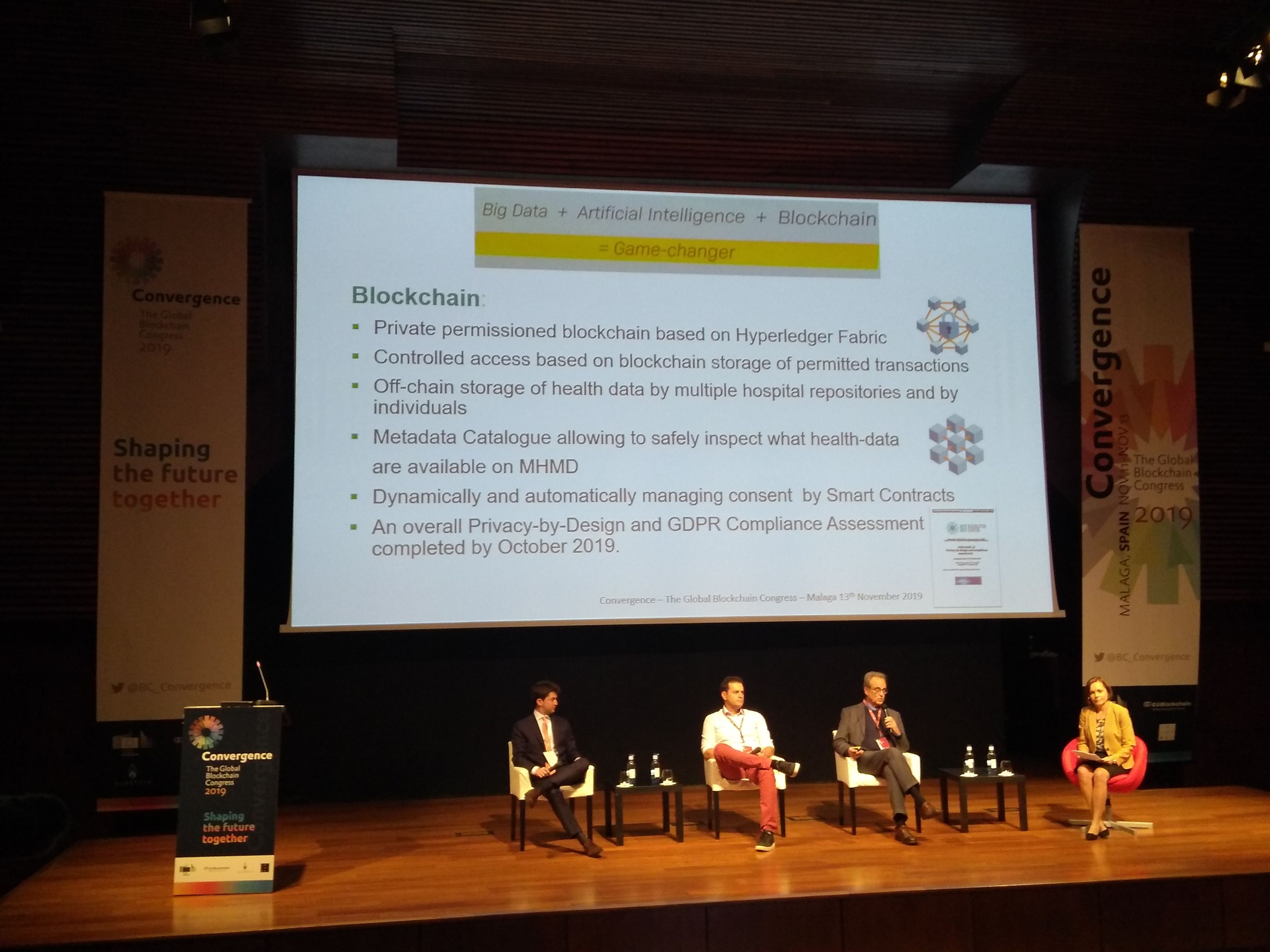 CUREX at the Global Blockchain Congress CONVERGENCE 2019, Spain
